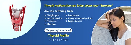 Thyroid malfunction can bring down your Stamina