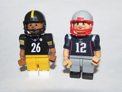 OYO Sports Le'Veon Bell and Tom Brady