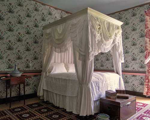 sonydschx1 maiac adenamansion thomasworthington ohio history nationalhistoriclandmark benjaminlatrobe bedroom bed canopy lj