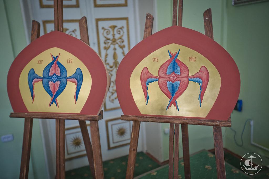 10 июня 2015, Защита дипломных работ иконописного отделения / 10 June 2015, Defense of the diploma works of the icon department