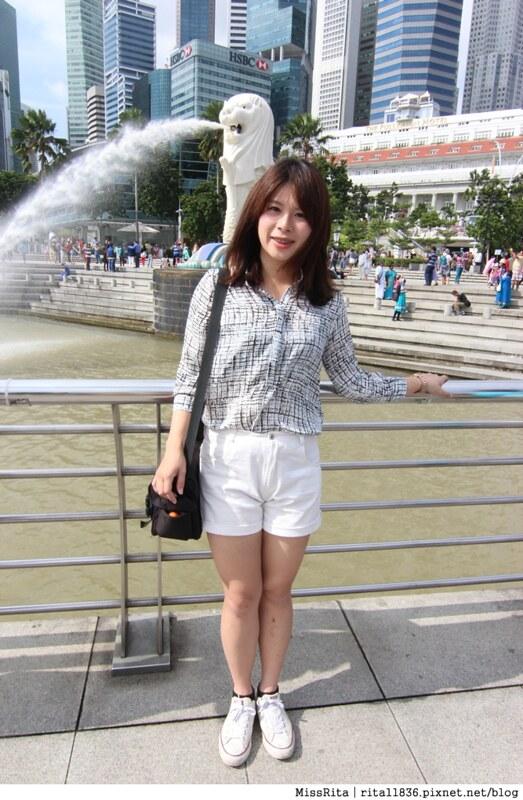 新加坡地標 新加坡好玩 魚尾獅公園 merlion park 新加坡地鐵14