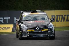 2015_BTCC_Croft-5676.jpg-Ashley Sutton leads in the Renault UK Clio cup championship.