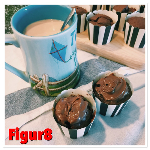 Choc Brownie Muffins