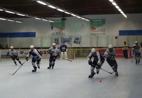 Skater hockey: Highlander Lüdenscheid v Samurai Iserlohn