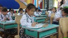 Grade 1 hard at work