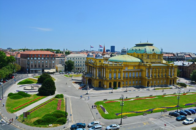 Header of Academy of Music, University of Zagreb