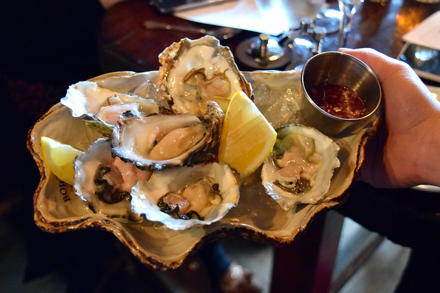 Oysters at The Finnieston, Glasgow