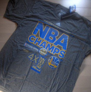 '2015 NBA Champion' goods at last reaced my place on JUL 28, 2015 (4)
