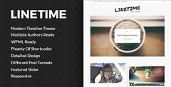 LineTime | Modern Timeline Wordpress Blog Theme (B…