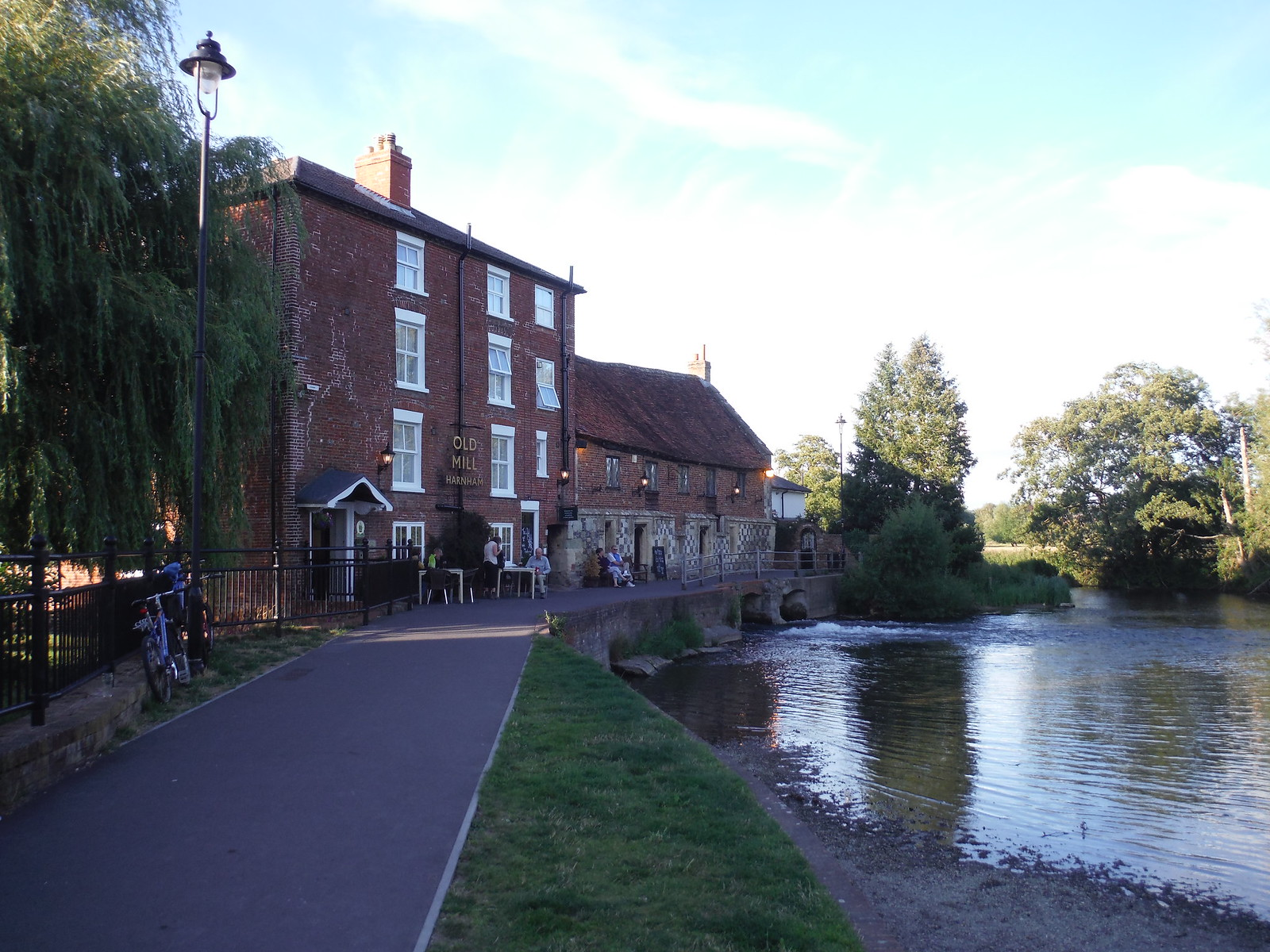 Old Mill at Harnham SWC Walk 254 Salisbury Circular