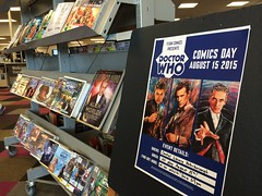 Doctor Who display
