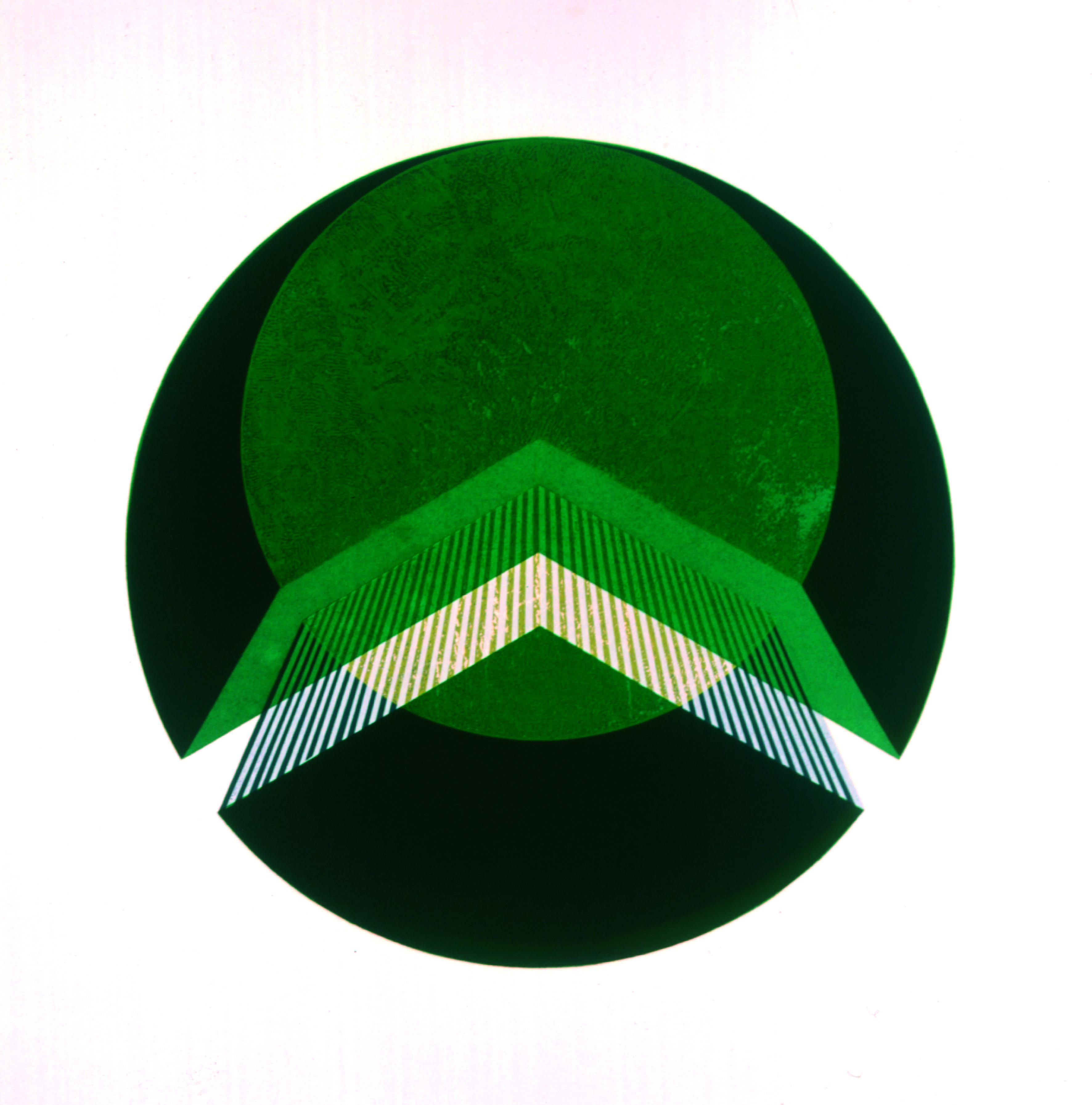 Composição Circular  Autor: Massuo Nakakubo Ano: 1970  Técnica: Serigrafia  Dimensões: 50cm x 50cm