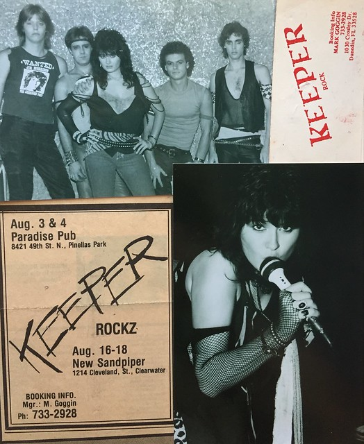1984-1986 Tampa Bay Area Band Flyers