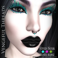 Vengeful Threads - 10L Vivid Noir Nose Ring_Ad
