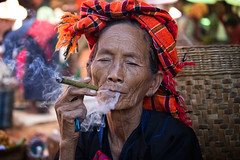 woman of the Pa'O ethnic group~ Myanmar