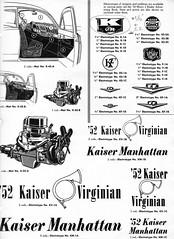 1952 Kaiser Advertising Artwork