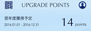 160611 2017年アップグレードポイント獲得実績