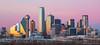 Dallas Pink Sunset by JosephHaubert
