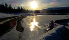 Evening Glow at the Arrow Lake