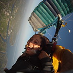 Sunset skydive... nothing better!