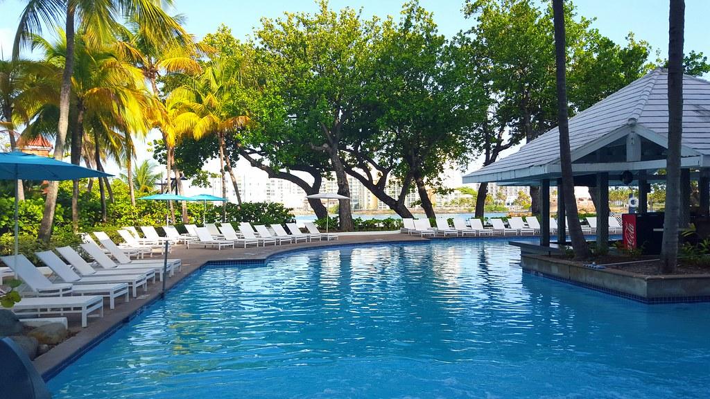 Condado Plaza Hilton pool area