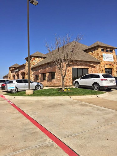 Photo of exteriors of our cosmetic dentistry office in Flower Mound TX