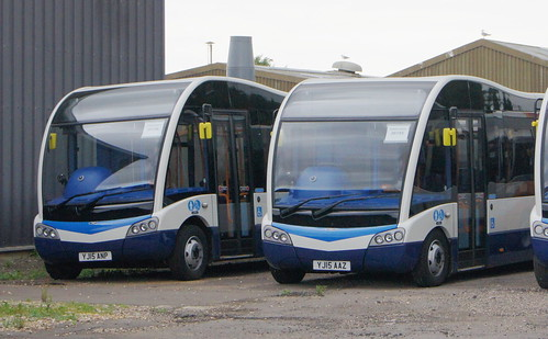 Stagecoach Norfolk YJ15 AAZ and YJ15 ANP(c) David Bell