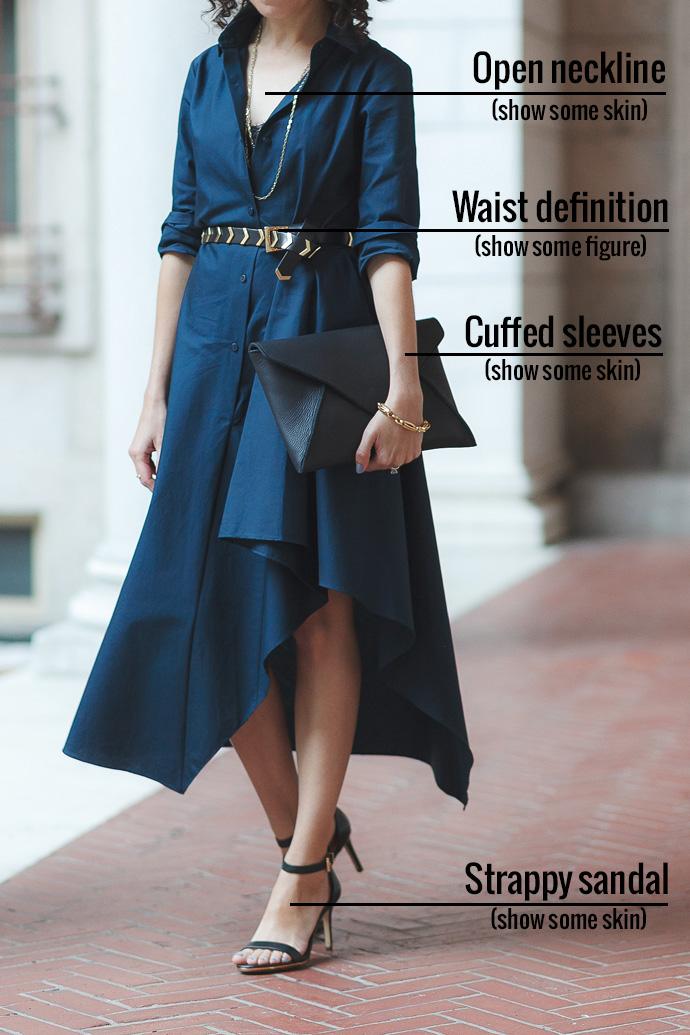 petite-style-tip-dress-build-presence