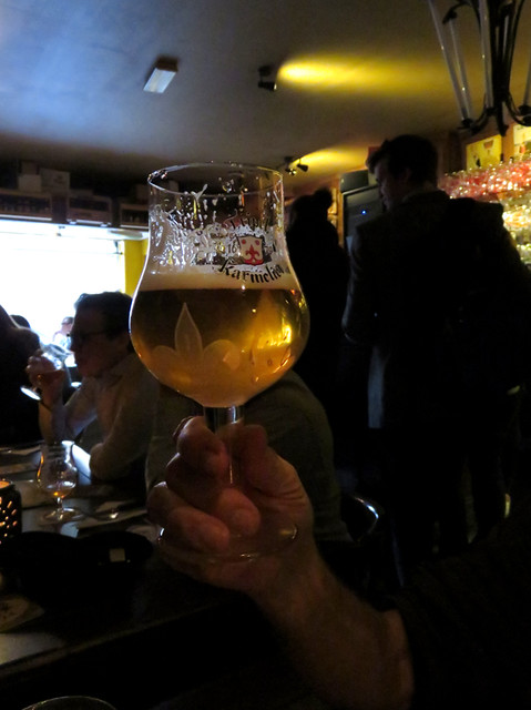 A Tripel Karmeliet at the pub De Zotte in Amsterdam, Holland