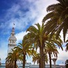 Embarcadero San Francisco.👌🌴🌴🌴 #usa #california #sanfrancisco #city #embarcadero #palmtree #tower #1915 #portofsanfrancisco #ferry #bluesky #clouds #enjoying High-Light by H-awx
