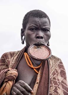 Lip Plate, Surma, Ethiopia