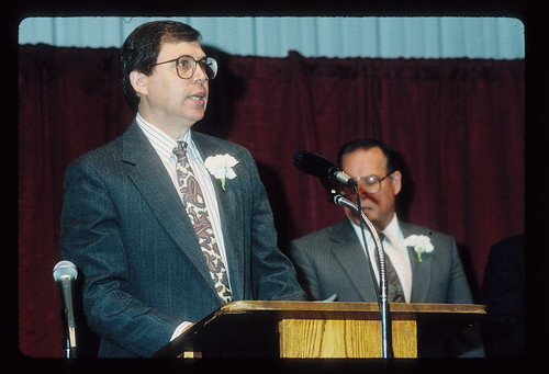 1992 Jay  leading singing -celebration Sept