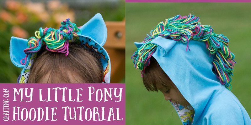 My Little Pony Crafting Con Tutorial Link Up