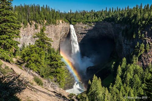 ca canada waterfall rainbow britishcolumbia panasonic hdr helmckenfalls 1235 wellsgrayprovincialpark gh4 thompsonnicolaa dmcgh4