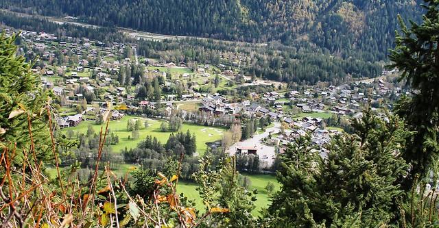 les praz from chalet la floria trail france