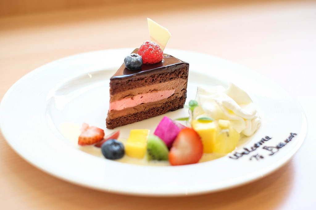 Delicius Pasticceria's Raspberry Chocolate Cake