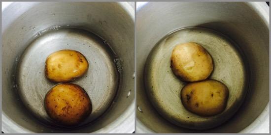 Potato salad for babies - step 1