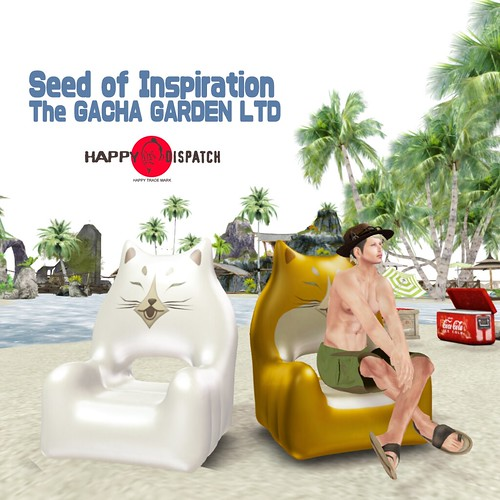 [HD]Inflatable chair SOI for The Gacha garden LTD