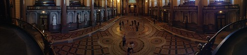 Panoramic view of St George's Hall