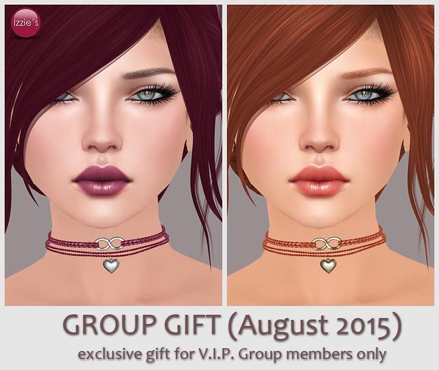V.I.P. Group Gift August 2015