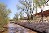 Redi-Rock-ledgestone-gravity-water-MaterialsInc-SantaFeRiverTrailMO17 by redirockphotodatabase