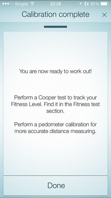 Jabra Sport iOS App - Setup Done