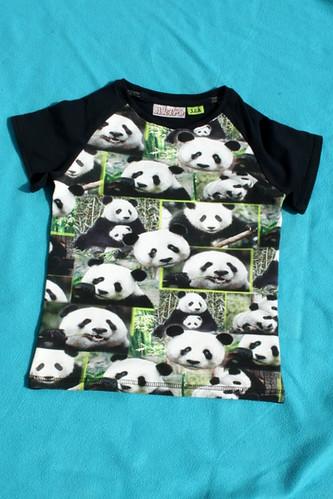 T-shirt voor Silke - Panda's!