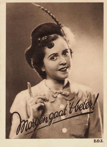 Lily Bouwmeester in Morgen gaat 't beter (1939)