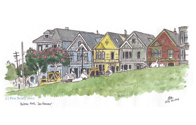 Duboce Square houses SF