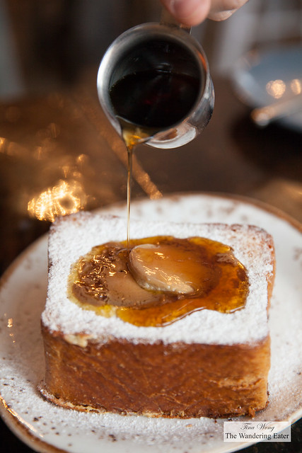 Foie gras French toast