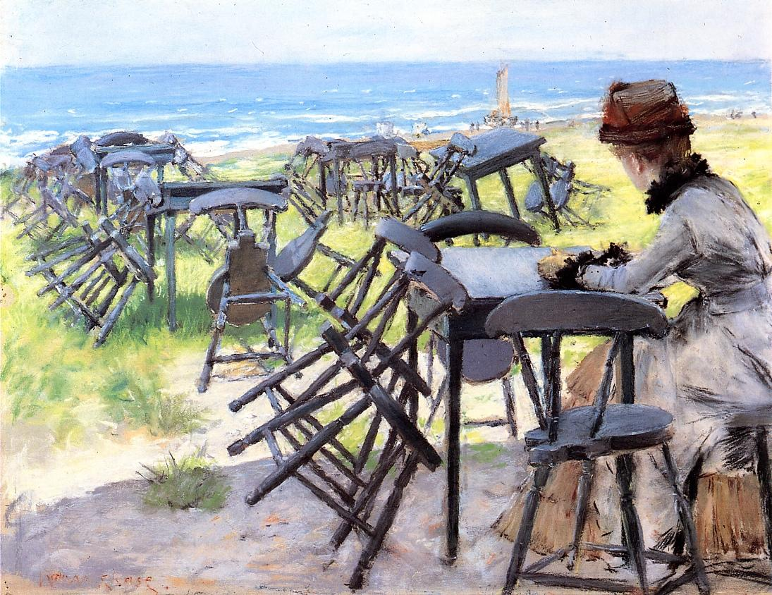 End of the Season by William Merritt Chase, c.1884