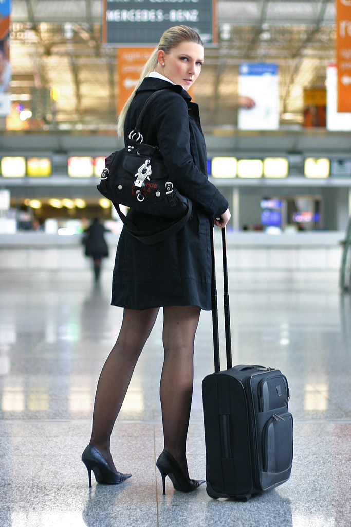 heels Business high women and pantyhose