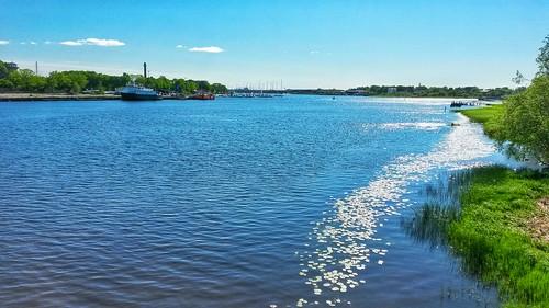 bridge river landscape estonia view maisema pärnu viro pärnuriver visitestonia samsunggalaxys4active