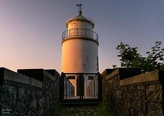 Leuchtturm Taksensand Flyr auf der Insel Als / Dänemark
